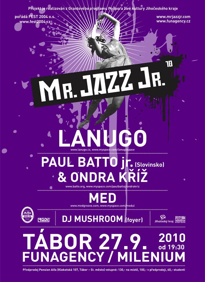 Poster Mr. Jazz 2010